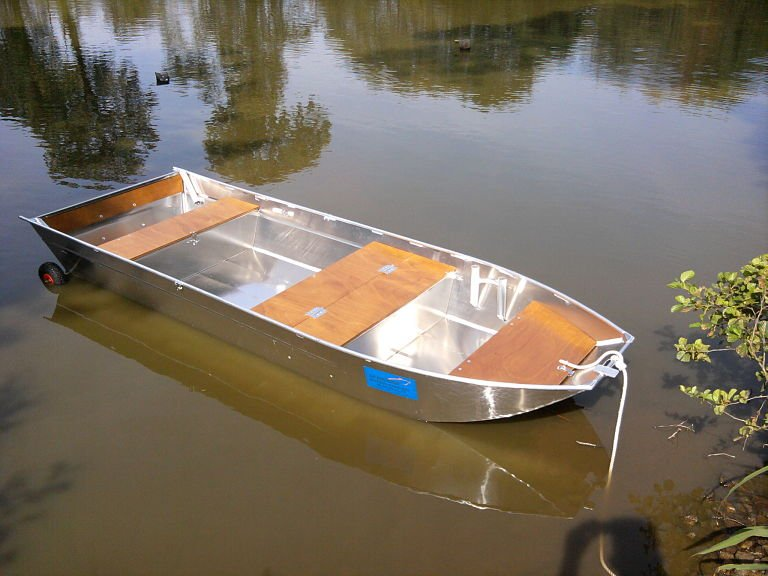 Barca pesca alluminio
